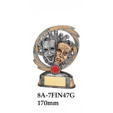 Drama Trophies 8A-7FIN47G - 170mm Also 190mm
