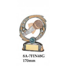 Music Debating Trophies 8A-7FIN48G  - 170mm & 190mm