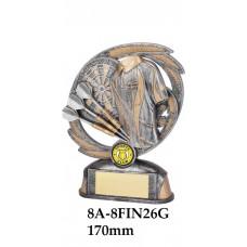 DartsTrophies 8A-8FIN26G - 170mm Also 190mm