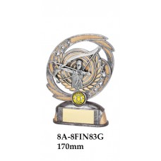 Archery Trophies 8A-8FIN83G - 170mm Also 190mm