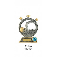 Swimming Trophies 978-2A - 125mm Also 150mm & 175mm