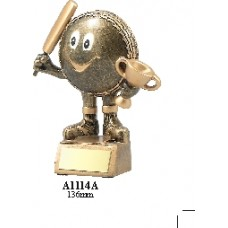 Cricket Trophies A1174A - 133mm
