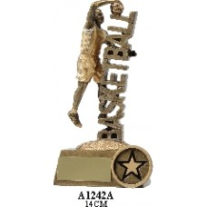 Basketball Trophies Male A1242A - 140mm Also 170mm & 210mm