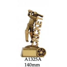 Cricket Trophies Batsman A1325A - 140mm & 165mm