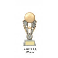 Volleyball Trophies A1482AAA - 155mm