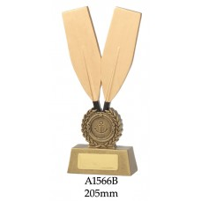 Rowing Trophies A1566B - 205mm