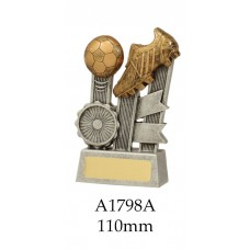 Soccer Trophies A1798A  - 110mm Also 140mm & 170mm