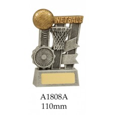 Netball Trophies A1808A - 110mm Also 140mm & 170mm