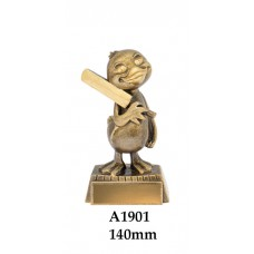 Cricket Trophies Duck A1901 - 140mm