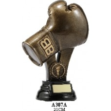 Boxing Trophies A307A - 210mm Also 240mm & 280mm