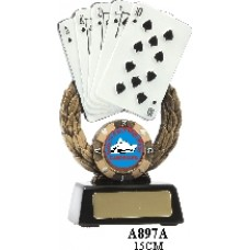 Playing Cards Trophies A897A - 150mm