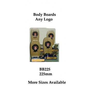 Surfing Trophies Bodyboards BB225 - 225mm