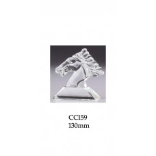 Equestrian Trophies Crystal CC159 - 130mm