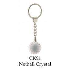 Netball Trophies Key Rings CK91