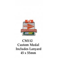 Custom Medals CM112 - 70mm Your Logo