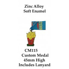 Custom Medals CM115 - 65mm Your Logo