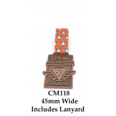 Custom Medals CM118 - 45mm Wide Your Logo