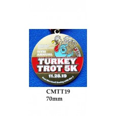 Custom Medals CMTT19 - 70mm Your Logo
