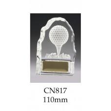 Golf Trophies Crystal CN817 - 110mm