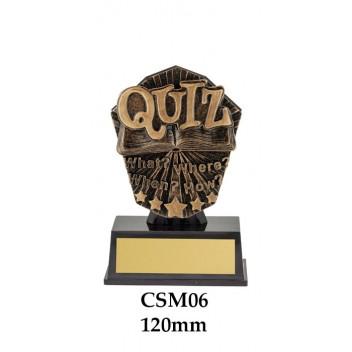 Novelty Trophies Quiz CSM06 - 155mm