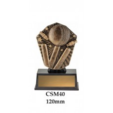 Cricket Trophies CSM40 - 120mm Also 150mm 175mm & 200mm
