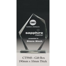 Corporate Glass Awards CT594S - 190mm Also 205mm & 240mm