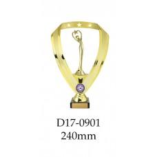 Dance Trophies D17-0901 - 240mm Also 270mm 295mm & 320mm