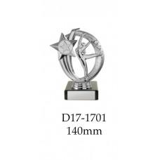 Dance Trophies D17-1701 - 140mm Also 170mm 195mm & 220mm