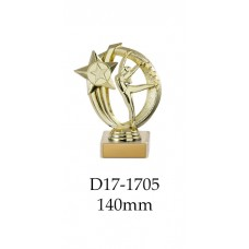 Dance Trophies D17-1705 - 140mm Also 170mm 195mm & 220mm