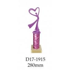 Dance Trophies D17-1915 - 280mm Also 255mm 230mm 205mm & 180mm