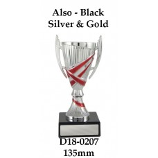 Dance Trophies D18-0207 - 135mm Also 160mm 180mm 200mm 255mm & 305mm