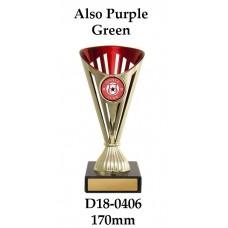 Dance Trophies D18--0406 - 170mm Also 195mm 220mm 245mm & 270mm