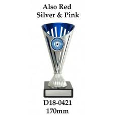 Dance Trophies D18-0421 - 170mm Also 195mm 220mm 245mm & 270mm