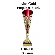 Dance Trophies D18-0501 - 335mm Also 360mm & 385mm
