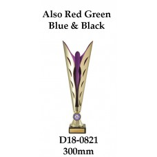 Dance Trophies D18-0821 - 300mm Also 312mm 332mm & 350mm