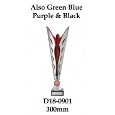 Dance Trophies D18-0901 - 300mm Also 312mm 332mm & 350mm