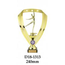 Dance Trophies D18-1313 - 240mm Also 270mm 295mm & 320mm