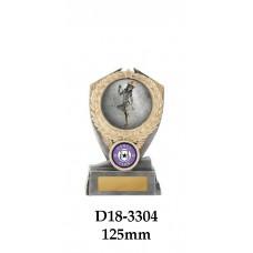 Dance Trophies D18-3304 - 125mm Also 150mm & 175mm