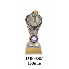 Dance Trophies D18-3307 - 150mm Also 175mm & 200mm
