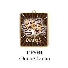 Drama Medals DF7034 - 63mm x 75mm