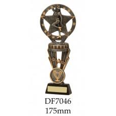 Dance Trophies DF7046 - 175mm Also 195mm & 225mm