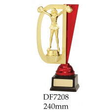 Cheerleading Trophies DF7208 - 240mm Also 260mm & 280mm