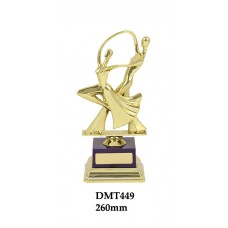 Dance Trophies DMT449 - 260mm Also 290mm