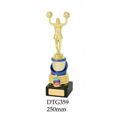 Cheerleading Trophies DTG359  - 250mm Also 250mm & 265mm