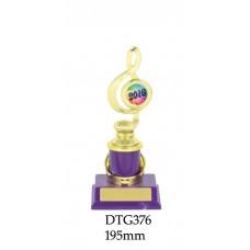 Music Trophies DTG376 - 195mm