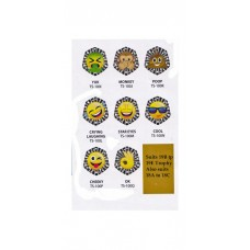 Novelty Trophy Emojis Suit 19B to 19E Also 18A to 18C
