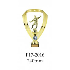 Soccer Trophies F17-2016 - 240mm Also 270mm 295mm & 320mm