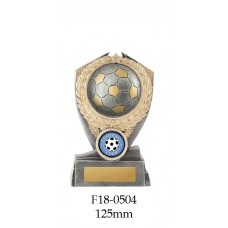 Soccer Trophies F18-0504 - 125mm Also 150mm & 175mm