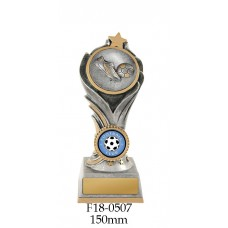 Soccer Trophies F18-0507 - 150mm Also 175mm & 200mm