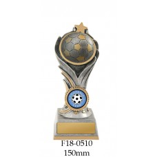 Soccer Trophies W18-0510 - 150mm Also 175mm & 200mm
